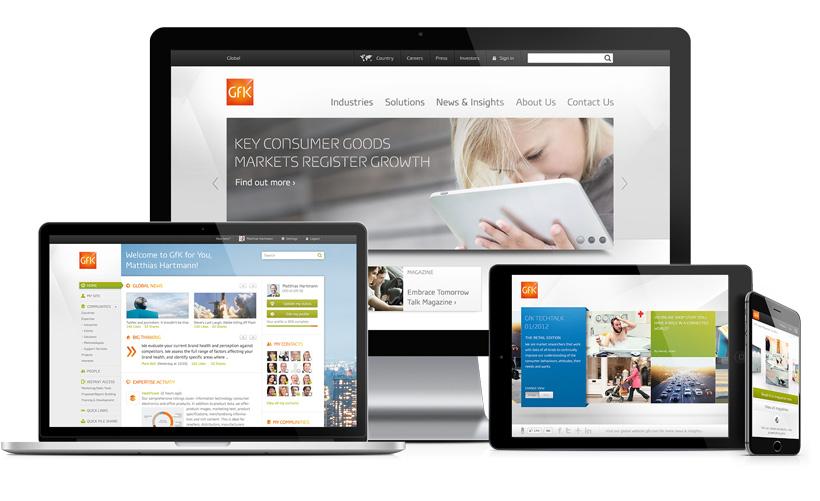 GfK.com Homepage