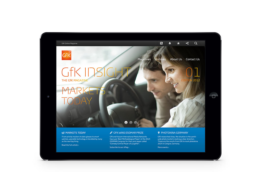 GfK Insights Microsite