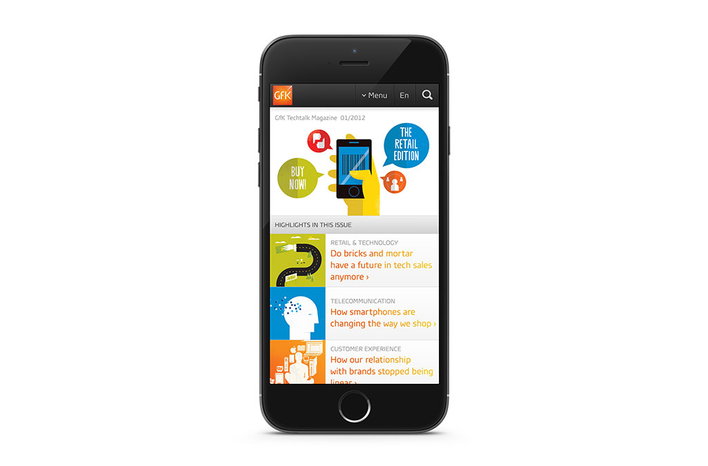 GfK Mobile Websites